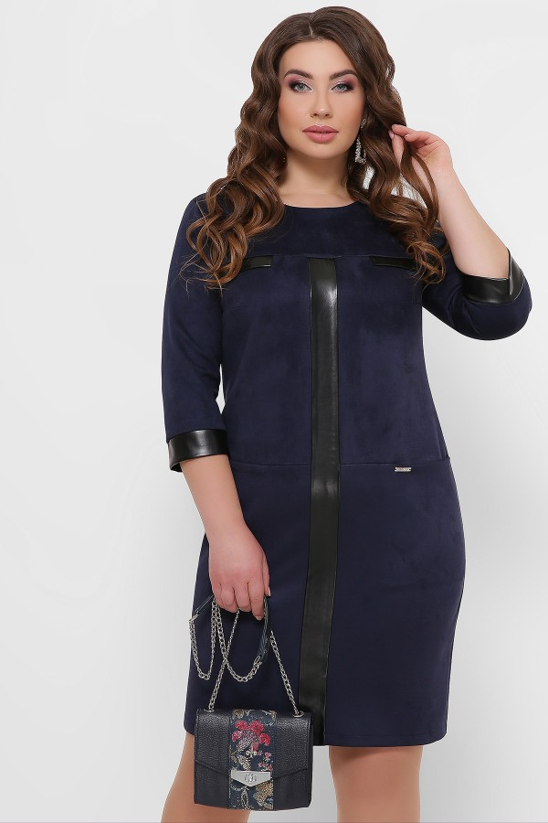 Зимове ділове плаття великого розміру Руфина  GL851901