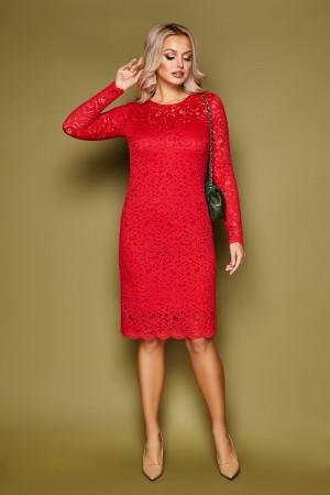 Сукня Санія-Б 3/4 GL52019 колір червоний