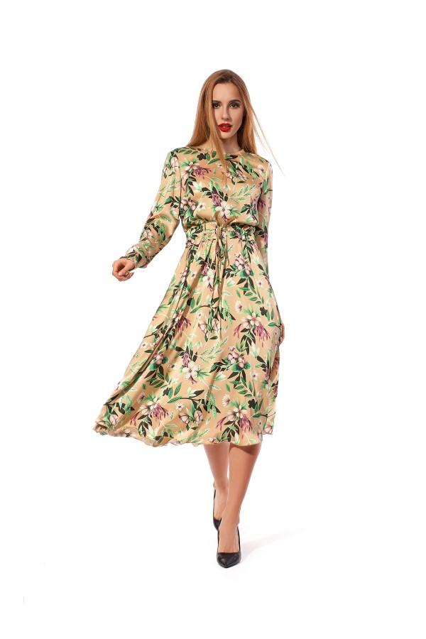 Святкове плаття  квіткове SL122503