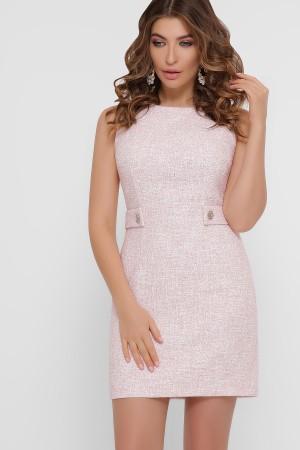 Кокетливе плаття-міні  Елеана GL857201 персик