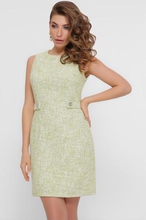 Кокетливе плаття-міні  Елеана GL857402 оливковий