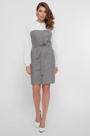 Ділове плаття  Лінсі GL858801 сіре