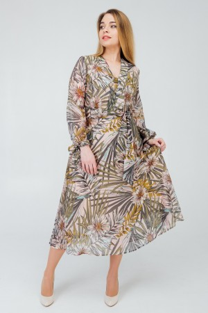 сучасне плаття 2020 великого розміру пальми