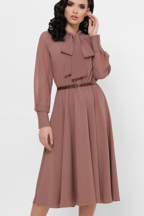 Вечірнє плаття Аля GL851105 капучино