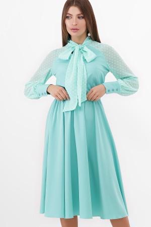 Вечірнє плаття Аля GL851107 мятного кольору