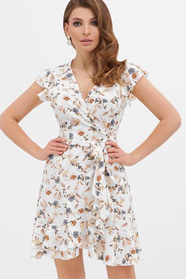 Плаття весни 2020 Софія GL867002 білі квіти