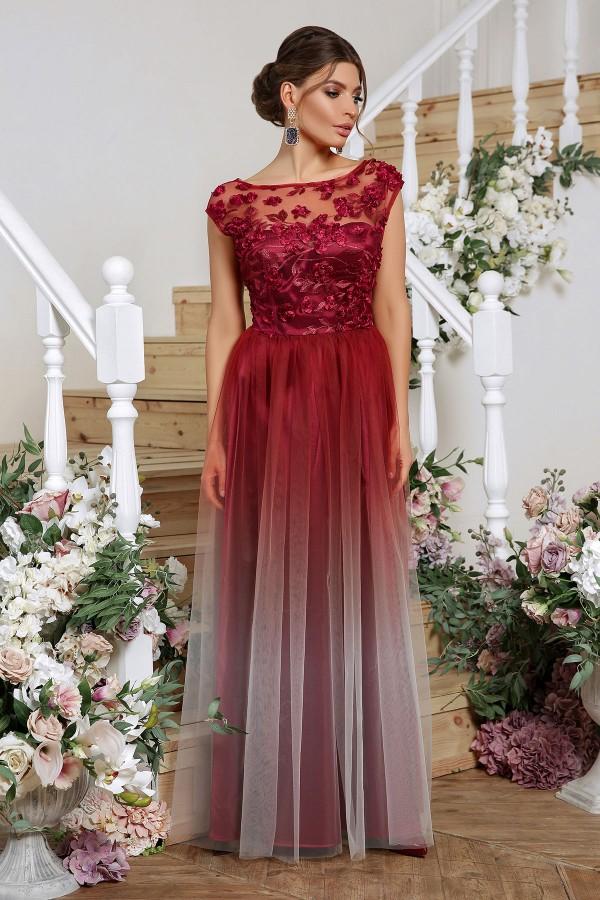 Великолепное вечернее платье 2020 Августина  GL865701