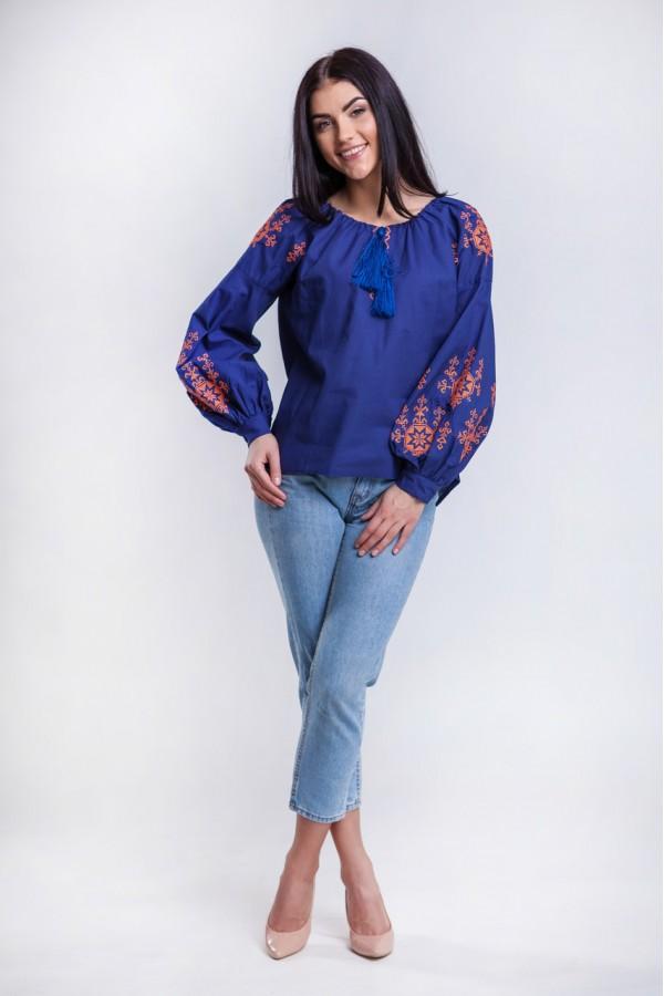 Жіноча етнічна блуза MR2011