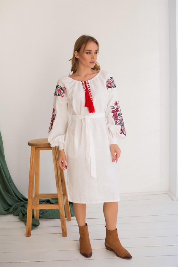Етно-плаття вишиванка MR623 Жар Птиця