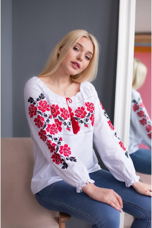 Блуза вишиванка MR210