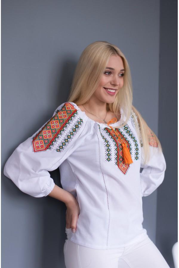 Блуза вишиванка Гуцулка MR209