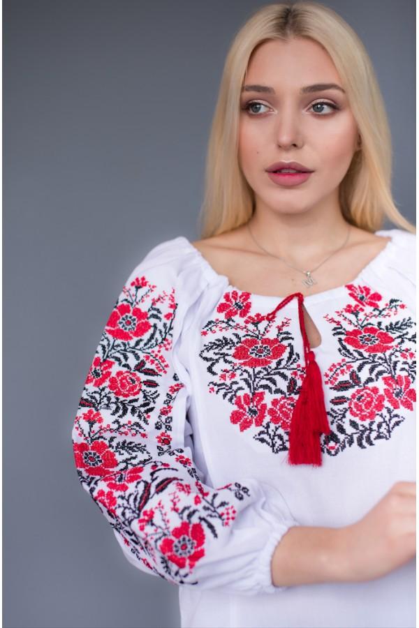 Етнічна блуза вишиванка MR209
