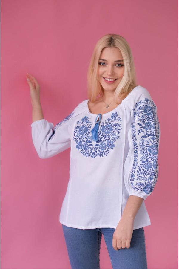Етнічна блуза вишиванка MR213