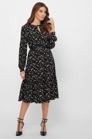 Плаття  осінь 2020 Агафья  чорна
