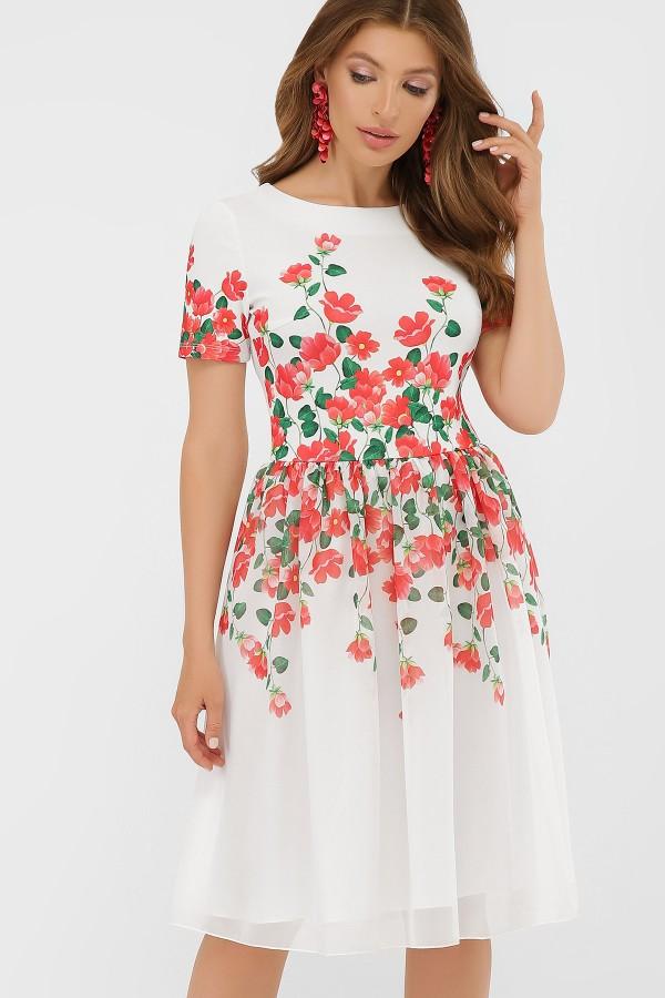 платье Мияна  GL879802 красный