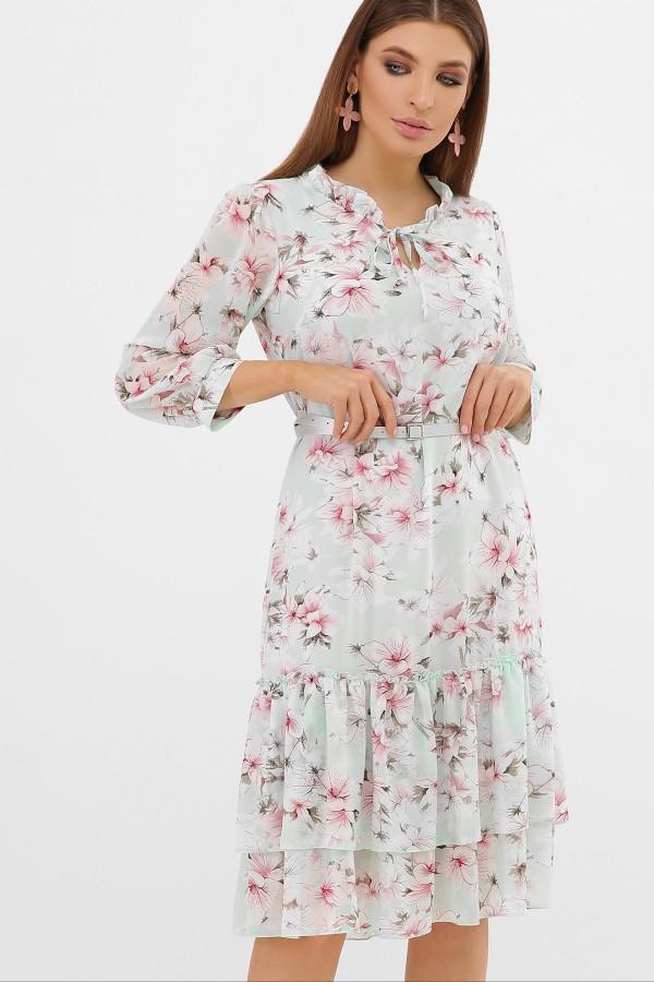 платье Элисон 3/4 GL864311 мята