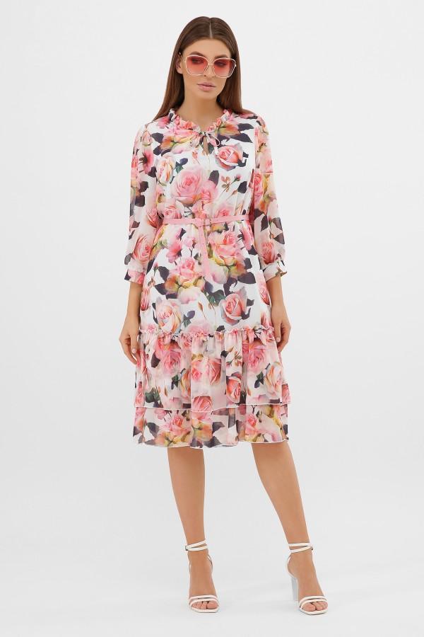 платье Элисон 3/4 GL864310 розы