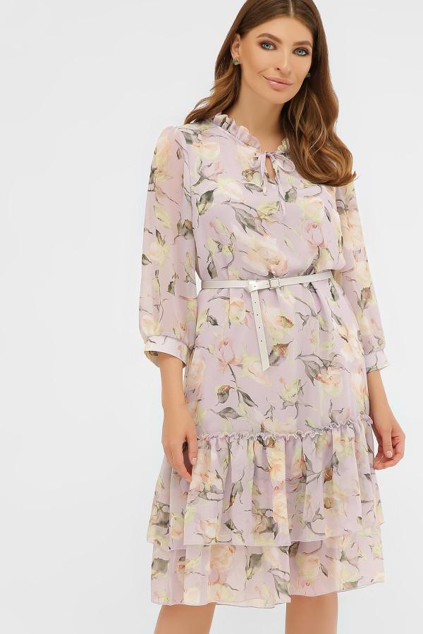 платье Элисон 3/4 GL864305  цветы