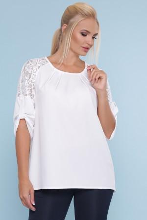 Блуза 2020 Грета-Б GL872503 білий