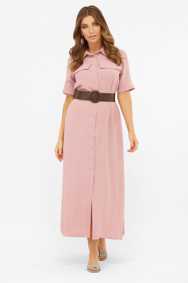 Летнее платье Мишель 2020 пыльная роза