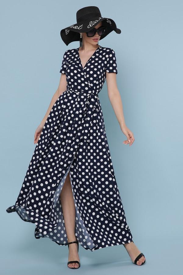 Длинное платье лето 2020 Шайни  GL871804