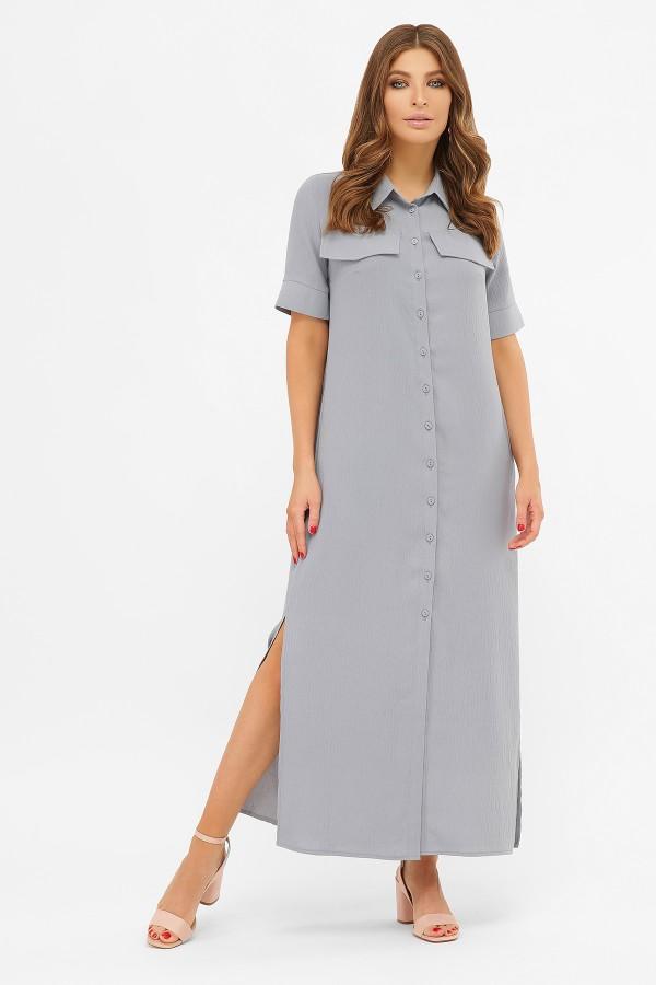 Летнее платье Мишель 2020 джинс