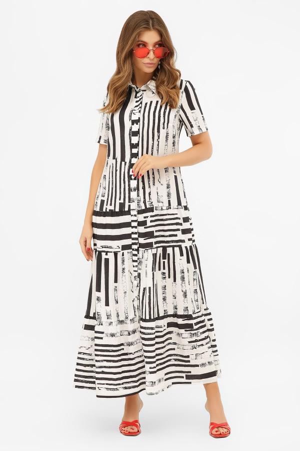 Летнее платье Дженни 2020 черная
