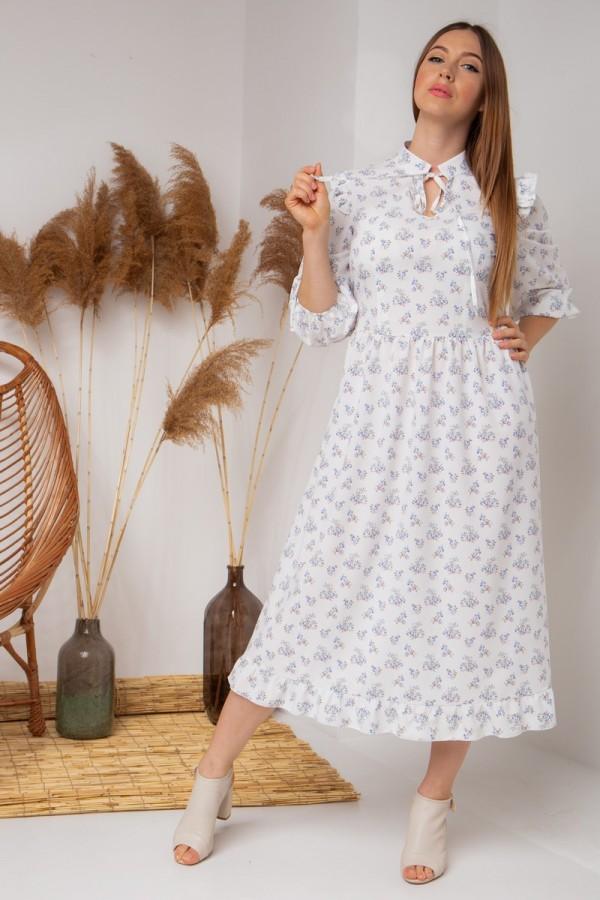 летнее платье в цветы YM40202