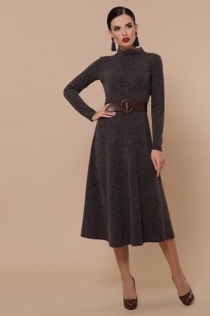 Ава плаття д/р GL5123 колір шоколад