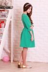 Платье 01202 зеленый