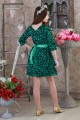 Платье 01303 зеленый