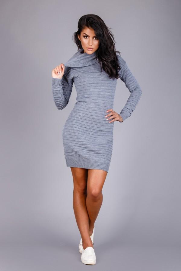 Платье  109801 серый