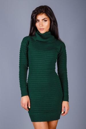 Платье  109802 зеленое
