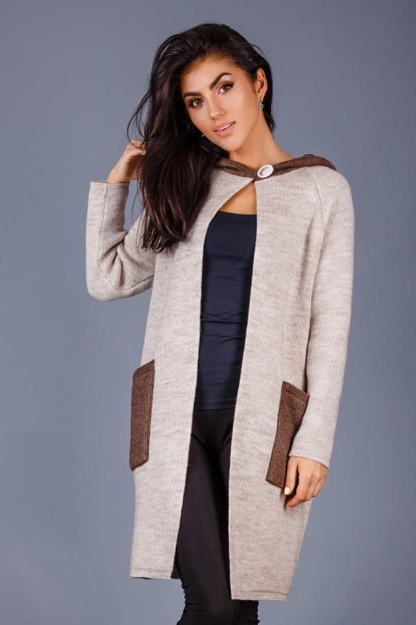 Кардиган-пальто  120201
