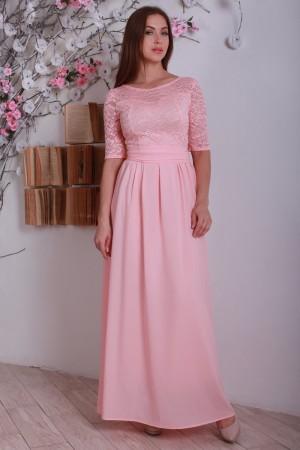 Платье персикове YM17302