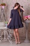 Плаття  24802  рожевий на синьому