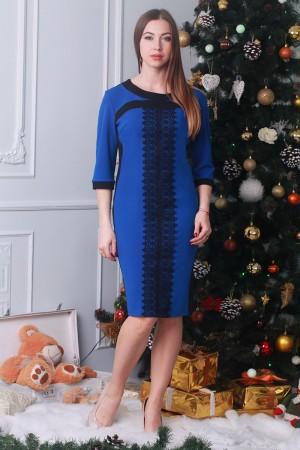 Платье 26702 электрик
