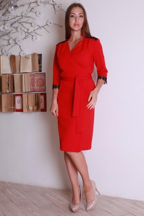 Червоне плаття YM28001