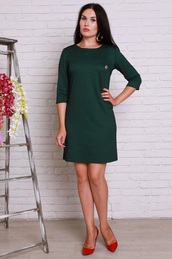 Плаття 499 темно-зелений