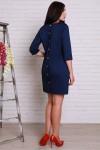 Плаття 499 темно-синій