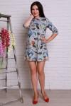 Плаття  500 сіра аногора