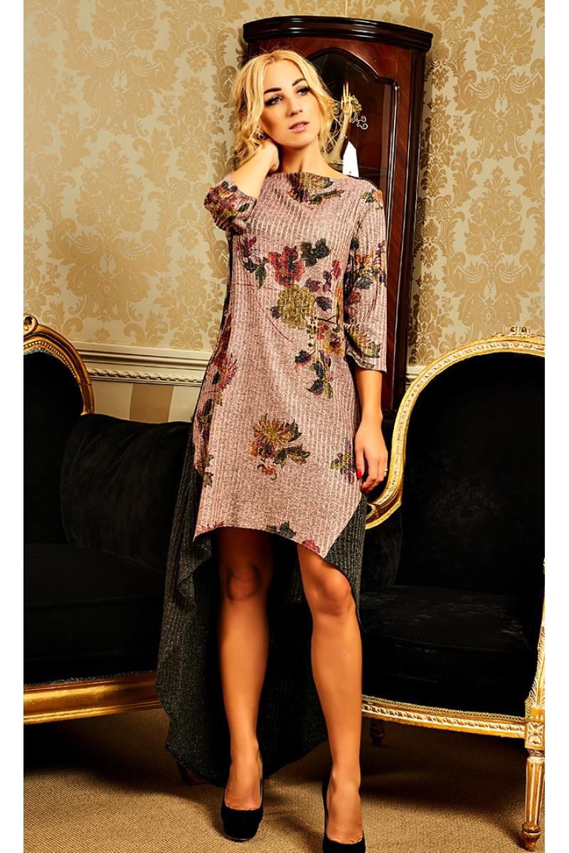 Купити осіннє плаття Ізабель AD16903 рожевого кольору від виробника ... 30bf859581d51