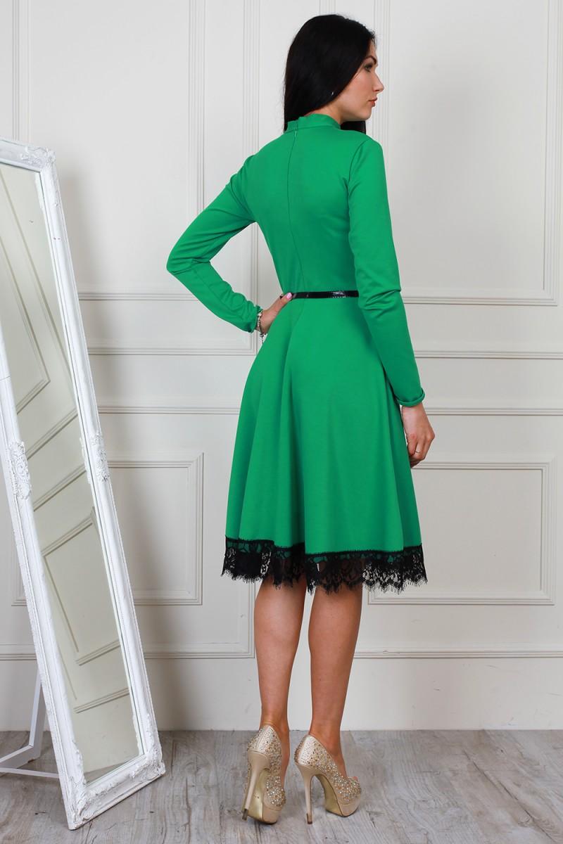 Платья зеленого цвета купить