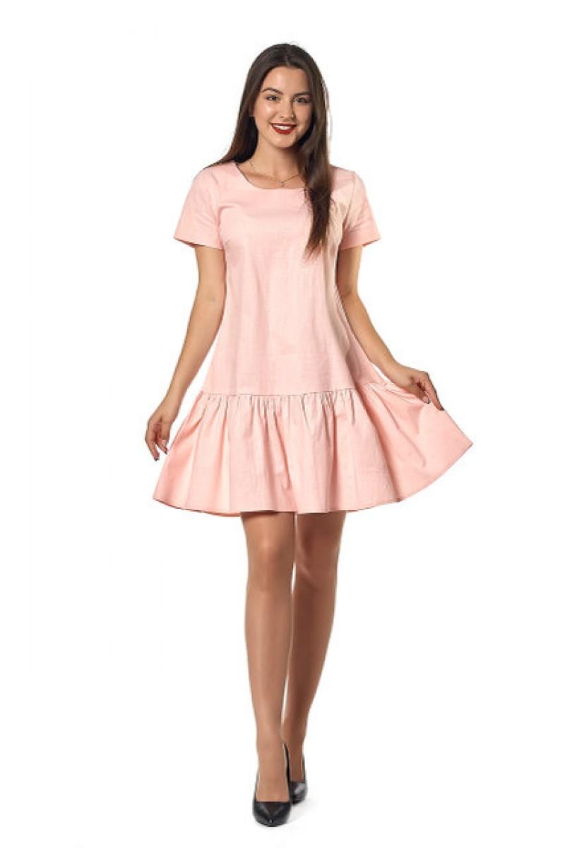 e257f82c71ce58 Купити молодіжне плаття недорого кольору персик 0255-3 з доставкою у ...