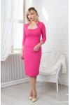 Плаття Жаклін 10403  рожевий