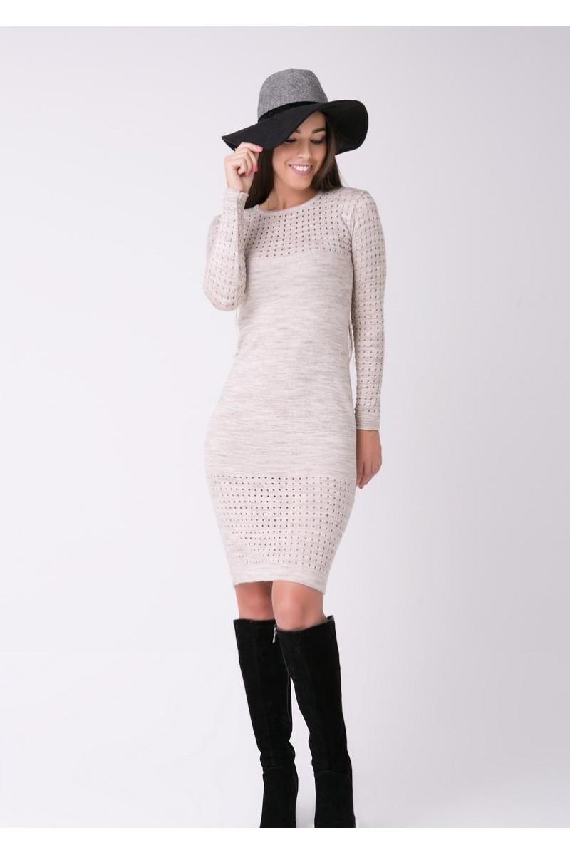 0518b4e8792f60c Купить платье 46371 терракотового цвета недорого от производителя с ...