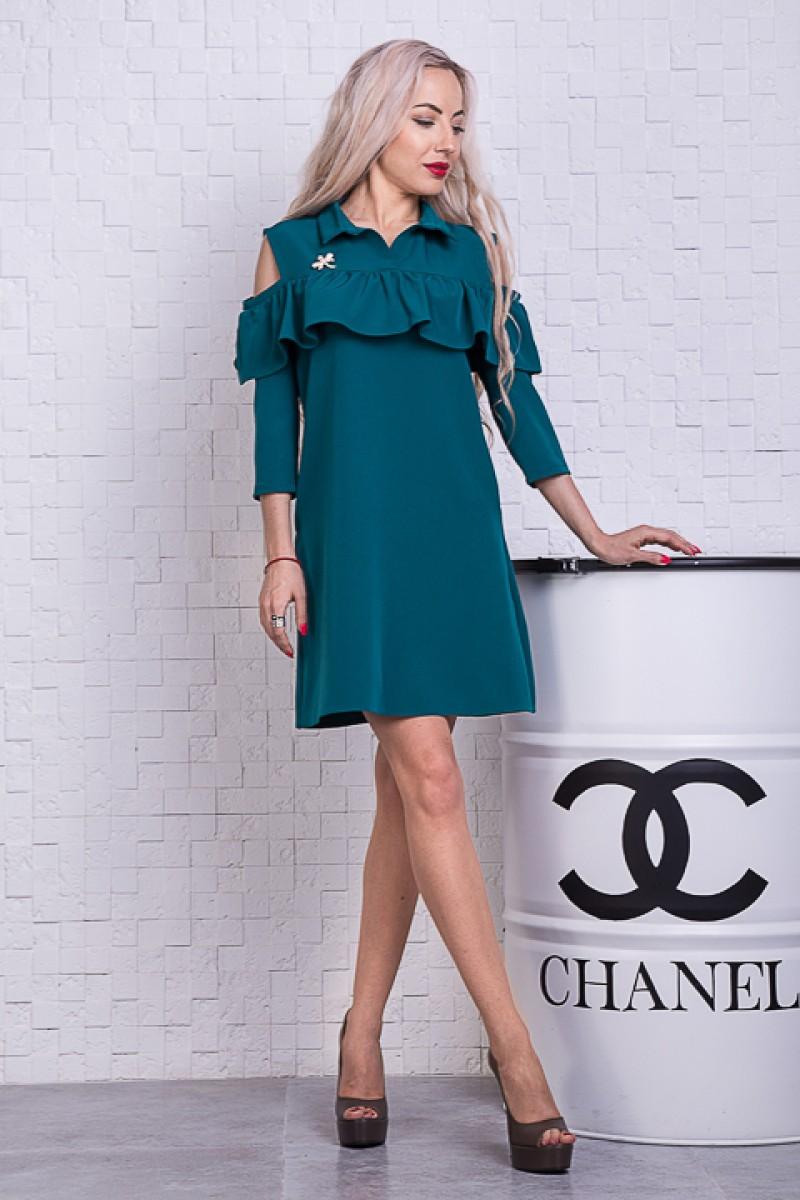 Купить платье SL712504 мятного цвета недорого от производителя с ... 0fea572de1f