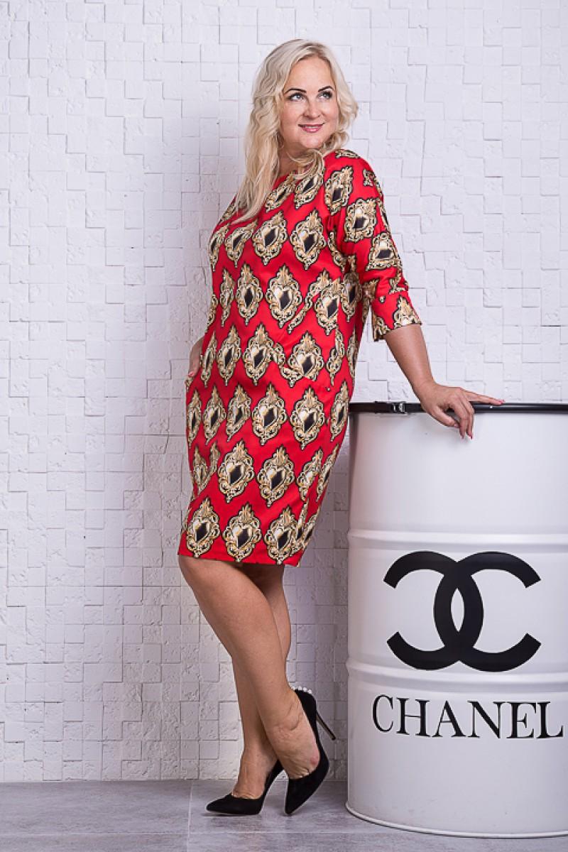 Купить платье SL78404 красного цвета недорого от производителя с ... 362927fce13