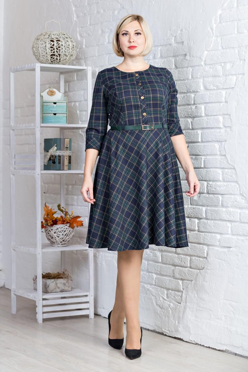 Купити повсякденне плаття великого розміру зеленого кольору VN31303 ... 092e640996338