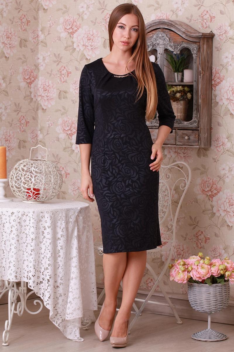 bbc406f29 Купити плаття чорного кольору з трикотажу оптом та в роздріб з ...